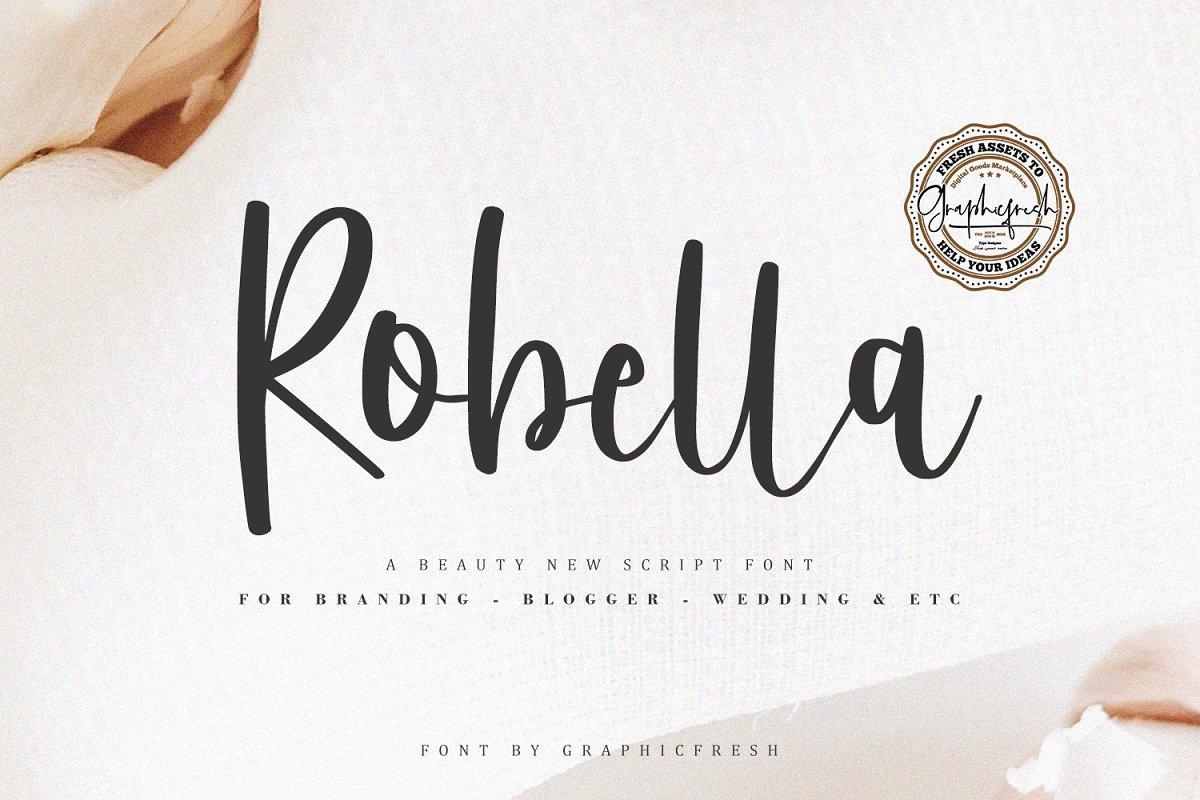 Robella // A Beauty Script Font
