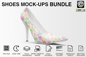 Shoes Mockup - High Heels Mockups