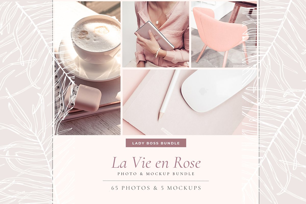 LADY BOSS. LA VIE EN ROSE. v10
