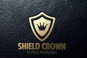 Shield Crown Logo