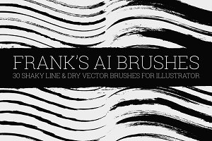 Illustrator Dry Brushes
