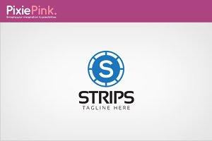 Strips Logo Template