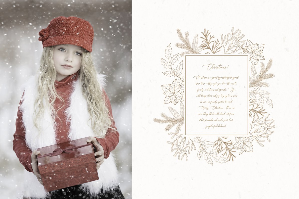 Christmas Time. Winter Bouquets. in Illustrations - product preview 7