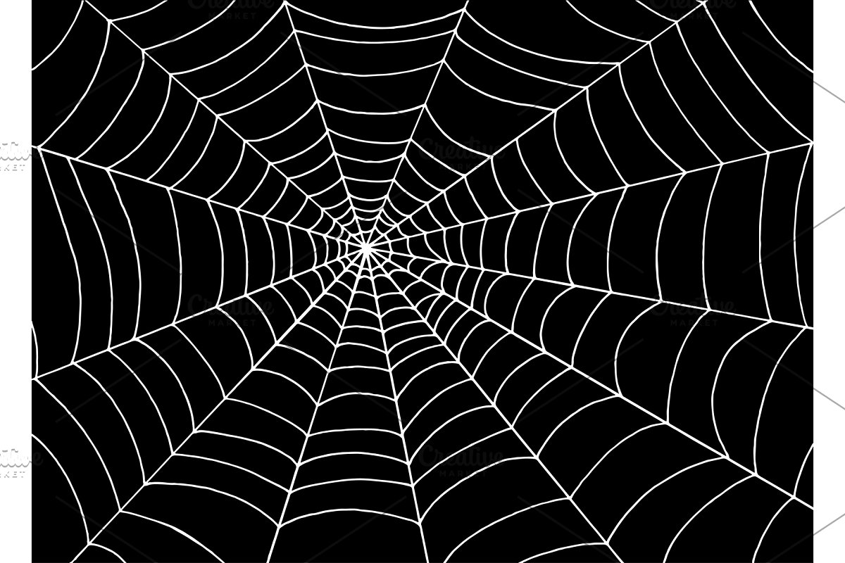 Spider Web - Halloween Background | Custom-Designed ...