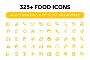 325+ Food Icons