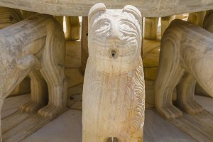 Alhambra lion detail