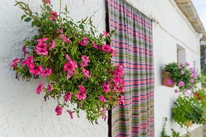 Alpujarras. Bubion house facade