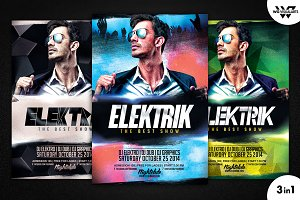 DEEJAY ELECTRO Flyer Template