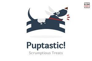 Puptastic! Logo Template
