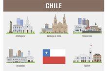 Cities in Chile