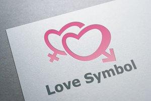 Love Symbol Logo