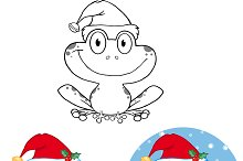 Smiling Christmas Frog Collection