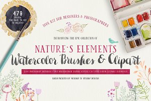 Nature's Element Watercolor Tool Kit