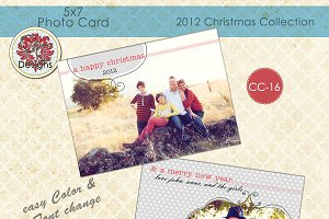 Christmas Photo Card  CC-16