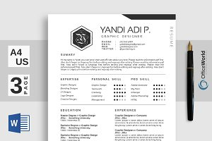 Digital Clean Resume / CV