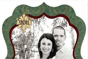 Christmas Photo Card Set 23