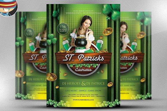 St. Patrick's Day Celebration 2 PSD - Flyers