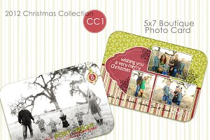 Christmas Photo Card Collection CC-1