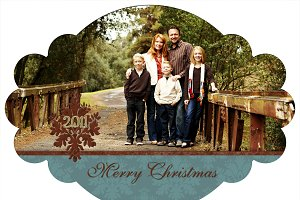 Christmas Photo Card Set 19