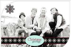 Christmas Photo Card Set 1