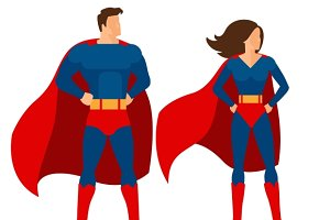 Superman & superwoman
