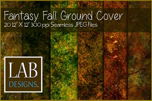 Seamless Fantasy Fall Ground Cover