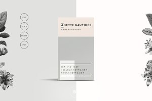 Modern, Clean Business Card Template