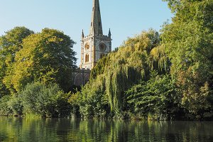 Holy Trinity church in Stratford UK
