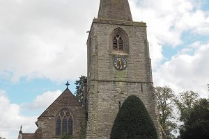 St Mary church in Tanworth in Arden