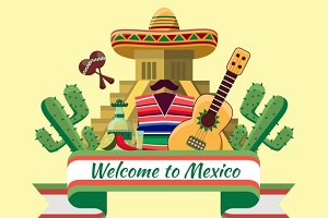 Welcome to mexico poster