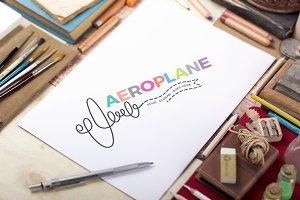 Plane Logo Template