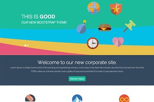 GoodWP - Bootstrap WordPress Theme