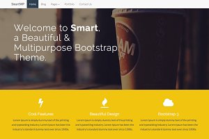 SMART - Bootstrap Wordpress Theme