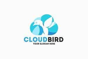 Cloud Bird Logo