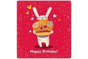"""Illustration """"Happy Birthday!"""""""