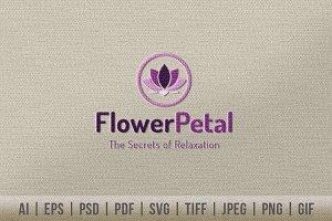 Flower Petal Logo