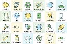 150+ Sports Icon Set