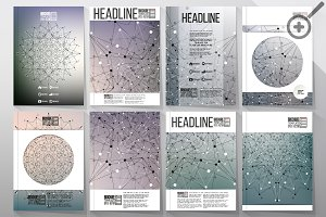Scientific templates for brochures