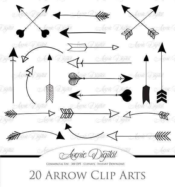 Clip Art Arrows Clipart arrows clipart and vectors illustrations on creative market illustrations