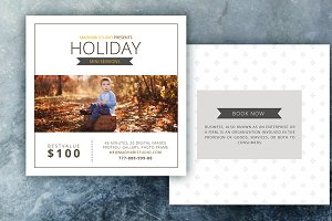 Holiday Mini Session Templates