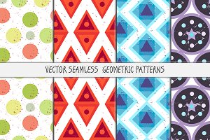 Grunge Seamless Patterns