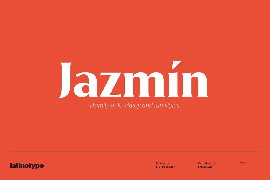 Jazmín - Intro Offer 79% off in Serif Fonts - product preview 13
