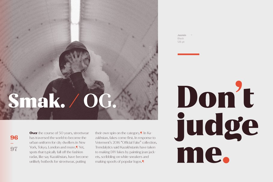 Jazmín - Intro Offer 79% off in Serif Fonts - product preview 9