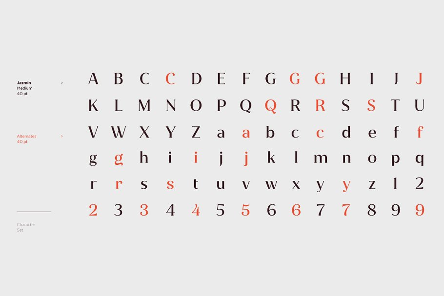 Jazmín - Intro Offer 79% off in Serif Fonts - product preview 1