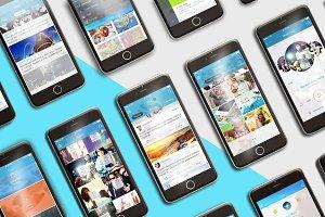iPhone 6 Mockup 4