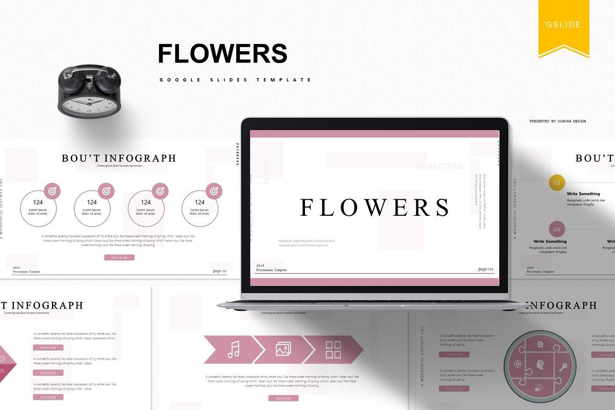 Flowers - Google Slides Template