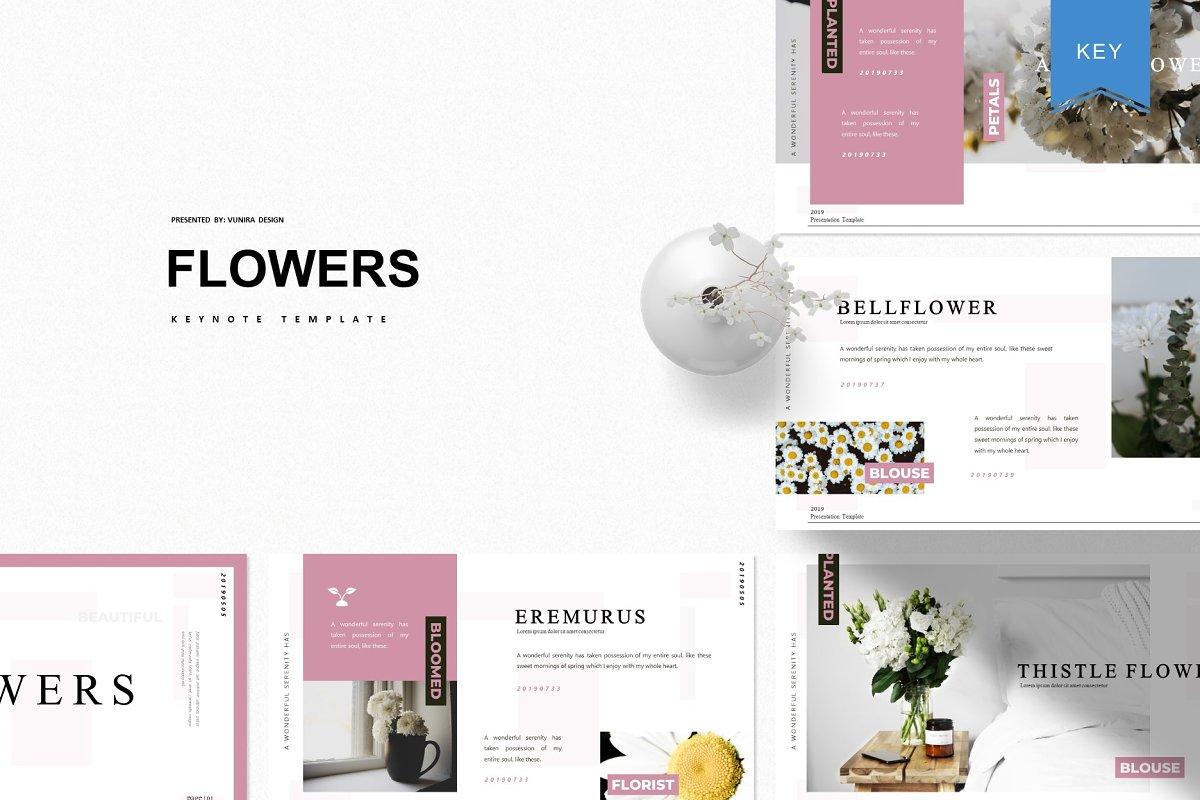 Flowers - Keynote Template