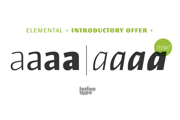 Elemental Sans Pro in Sans-Serif Fonts