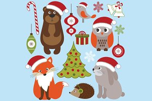 Christmas Woodland Animals