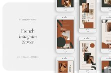 FRENCH Instagram Stories by  in Social Media